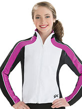 Dynamic Fitted Warm-Up Jacket from GK Gymnastics
