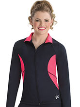 Artistic Edge Fitted Warm-Up Jacket from GK Gymnastics