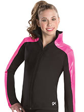 Bold Stripe Warm-Up Jacket from GK Gymnastics