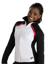 Sleek & Sporty Warm-Up Jacket from GK Gymnastics