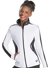 Stylish Contour Warm-Up Jacket from GK Gymnastics
