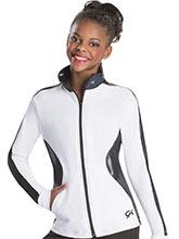 Stylish Contour Warm-Up Jacket from GK Gymnastics