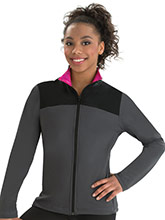 Fitted Warm-Up Jacket with Pocket Accent from GK Elite