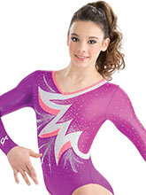 Bold Burst Gymnastics Leotard from GK Gymnastics