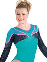 Stellar Long Sleeve Leotard from GK Gymnastics