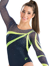 Classic Beauty Competitive Leotard from GK Gymnastics