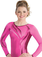 Dancing Flame Competition Leotard from GK Gymnastics