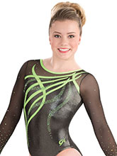 Ribbons & Curls Gymnastics Leotard from GK Gymnastics