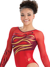 Whirlwind Competitive Leotard from GK Gymnastics