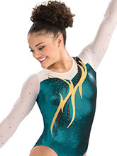 Soaring Flame Competition Leotard from GK Gymnastics