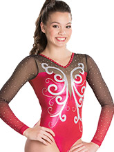 Majestic Monarch Sublimated Leotard from GK Gymnastics