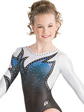 Whispering Flame Sublimated Leotard from GK Gymnastics
