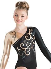 Blossom Long Sleeve Leotard from GK Gymnastics