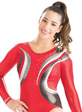 Calming Wave Competition Leotard from GK Gymnastics