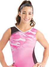 Army of Pink Gymnastics Leotard from GK Gymnastics