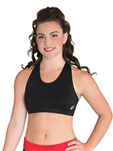 Mesh T Back Crop Top from GK Cheer