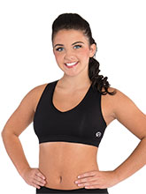 Exposed Racerback Crop Top from GK Cheer
