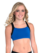 V Back Cheer Crop Top from GK Cheer