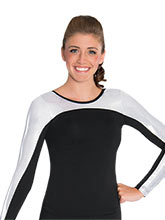Long Sleeve Mystique Accent Uniform Top from GK Cheer