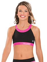 Cut Out Y Back Cheer Crop Top from GK Cheer