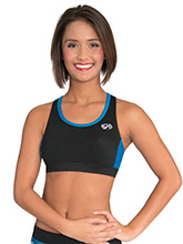 Open Triangle Cheer Crop Top  from GK Cheer