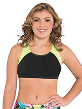 Strappy V-Back Cheer Crop Top from GK Cheer