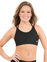 Criss Cross Craze Cheer Crop Top from GK Cheer