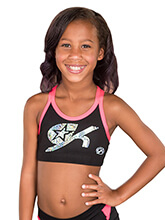 GK All Star Criss Cross Cheer Crop Top from GK Cheer
