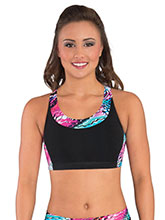 Modern X Back Crop Top From GK Cheer