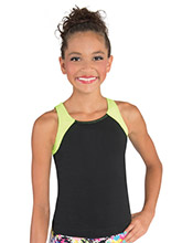 Strappy V-Back Long Cheer Top from GK Cheer