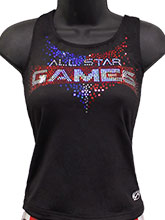 All Star Games Cheer Long Top from GK Cheer