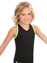 Bound Key Hole Back Cheer Top from GK Cheer