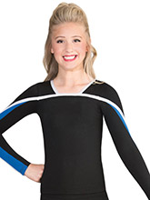 Bound Long Sleeve Uniform Top from GK Cheer