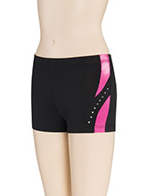 Side Twist Cheerleading Shorts from GK Cheer