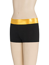 Flashy Two Tone Cheer Shorts from GK Cheer