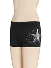 Sequinz Star Cheer Shorts from GK Cheer