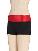 Contrasting Waistband Cheer Shorts from GK Cheer