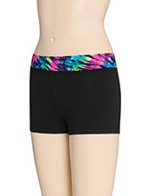 Prismatic Waistband Cheer Shorts from GK Cheer