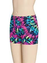 Prismatic Cheer Workout Shorts from GK Cheer