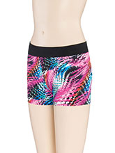 Print Passion Cheerleading Shorts from GK Cheer
