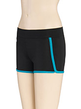 Opal Trim Cheerleading Shorts from GK Cheer
