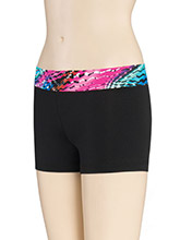 Print Passion Waistband Cheer Shorts from GK Cheer