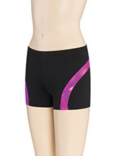 Opalescence Curve Cheer Shorts from GK Cheer