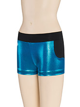 Flashy Front Panel Cheer Shorts from GK Cheer
