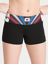 All Star Games Sublimated Shorts from GK Cheer