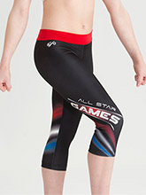 All Star Games Sublimated Capris from GK Cheer