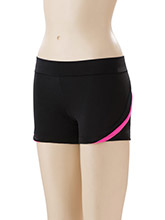 Tech Mesh Accent Power Cheer Shorts from GK Cheer