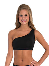 One Shoulder Crop Top from GK Cheer