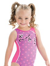 Cartwheel Minnie Leotard from GK Gymnastics Disney Collection