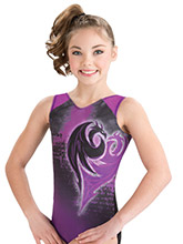 Daring Descendants Leotard from GK Gymnastics